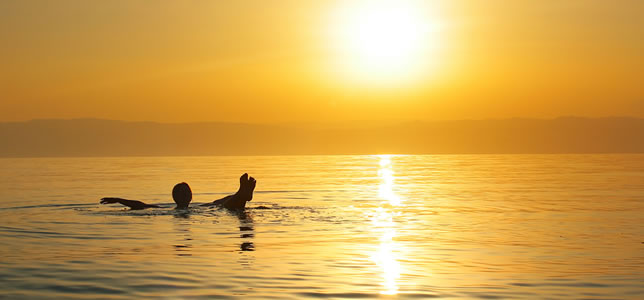Swim and Float on the Dead Sea when traveling to Israel