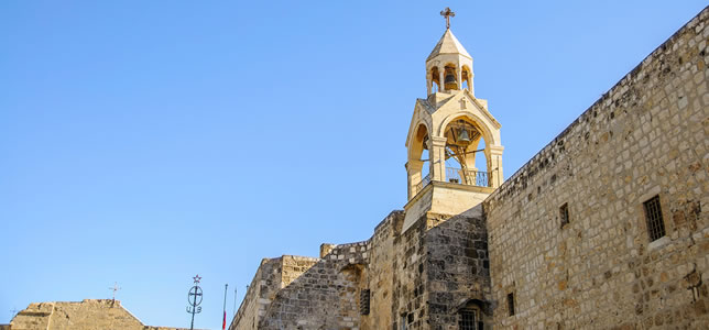 Christians Visit Bethlehem on their Holy Land Tours