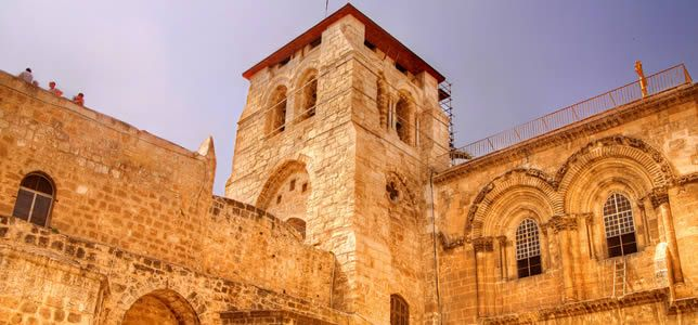 Experience The Church of the Holy Sepulcher on your Tour to Israel