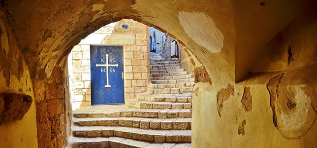 Travel the Holy Land and Visit Old Jaffa