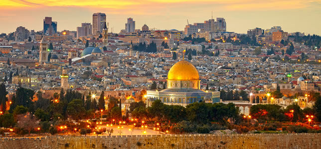 Travel to Jerusalem on a Holy Land Tour to Israel