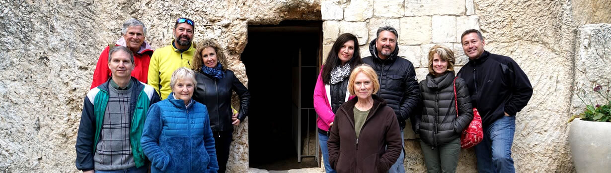 Visit the Garden Tomb in the Holyland