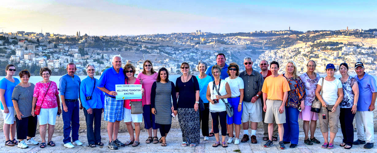 Church Groups to Israel and the Holy Land
