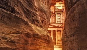 Classic Petra Tour from Israel
