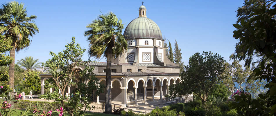 Church of the Beatitudes Israel Tour