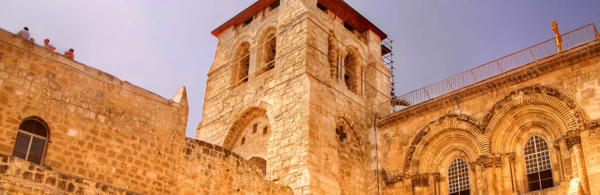 Tour the Church of the Holy Sepulchre in Jerusalem