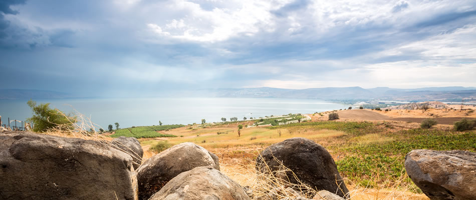 Mount of Beatitudes Situated in The Holy Land Israel