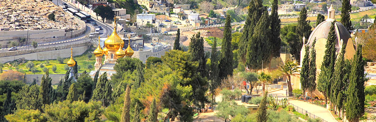 Israel Tour to the Mount of Olives in Jerusalem